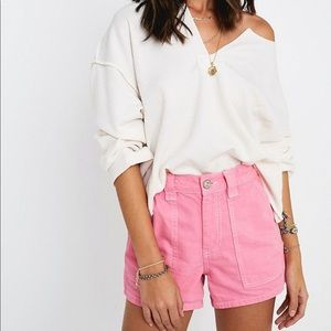 BDG Urban Outfitters Pink Slate Shorts